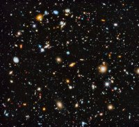 The further we look, the more galaxies we find.